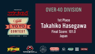 2019 World YoYo Contest – Over 40 Results