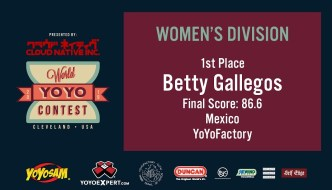 2019 World YoYo Contest – Women's Division Results