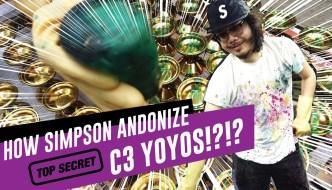 C3yoyodesign – Simpson Anodizes YoYos