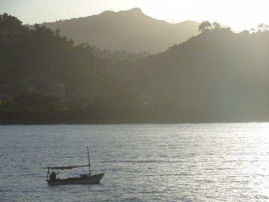 Outre le chocolat, la pêche est une activité importante pour les locaux à Baracoa photo blog voyage tour du monde https://yoytourdumonde.fr