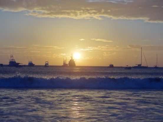 Coucher de soleil à San Juan del Sur au Nicaragua photo blog voyage tour du monde travel https://yoytourdumonde.fr