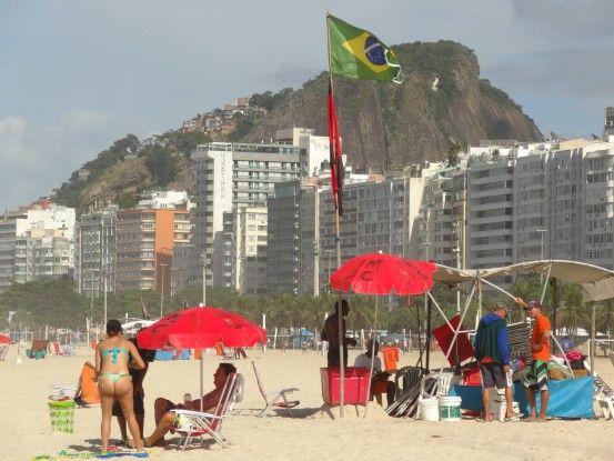 Plage à Rio de Janeiro au Brésil photo blog voyage tour du monde travel https://yoytourdumonde.fr