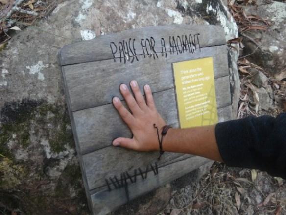 Australie- Whitsunday: Donc je suis un Aborigene, comme cendrillon c'est parfaitement a ma taille!!!