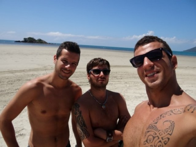 Australie- Cap Tribulation: Les 3 comperes...