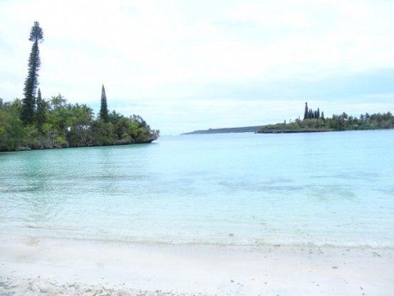 Ile de Lifou: Sur la route pour aller au festival, la mer n'est jamais tres loin.