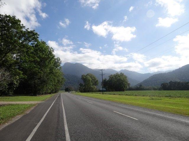 Australie- Queensland: La route pour aller a Mossman.