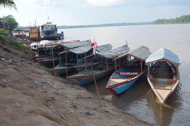 Pérou: Le port de Yurimaguas