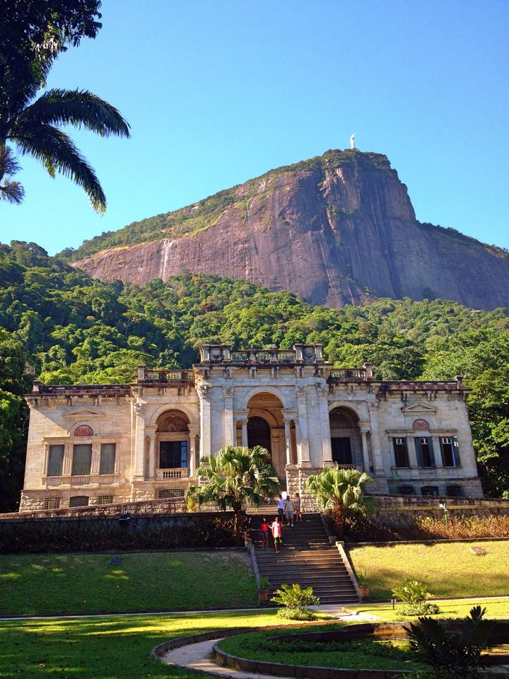 Bresil- Rio de Janeiro: Parc Laje.