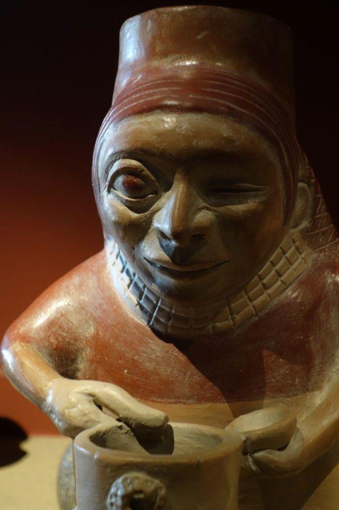 Perou: Objet découvert dans la tombe du Seigneur de Sipan