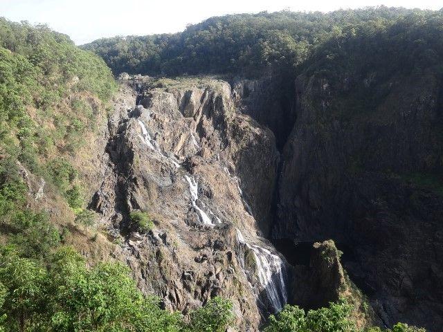 Australie- Kuranda: La cascade en question.