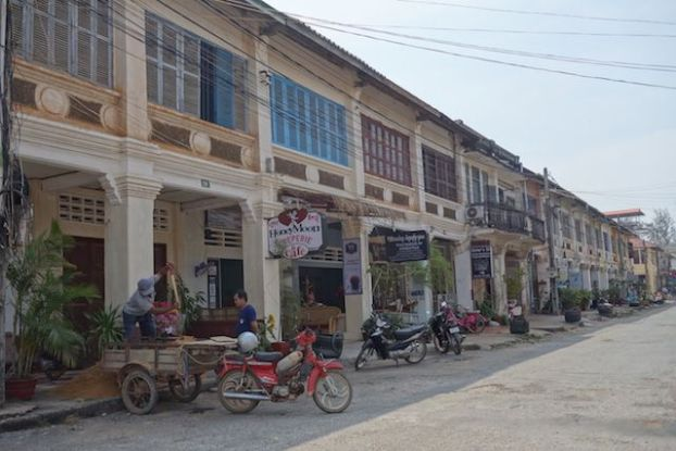 L'architecture coloniale de la ville de Kampot au Cambodge photo https://yoytourdumonde.fr