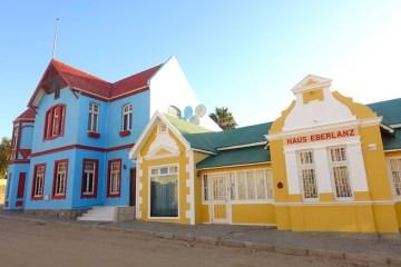 Voyage et découverte de la très belle ville de Luderitz en Namibie.