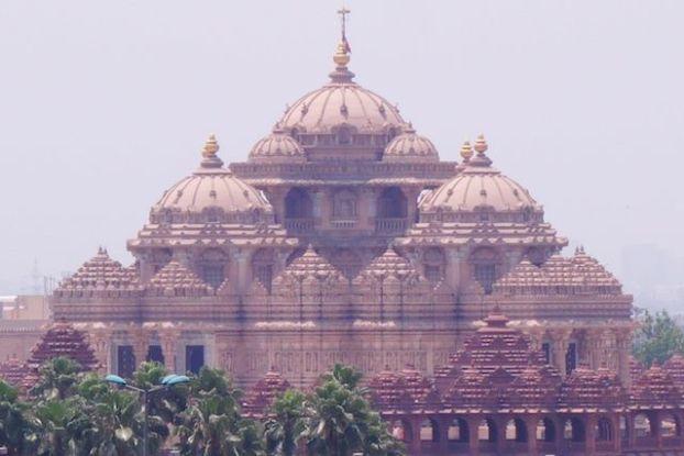 Swaminarayan Akshardham à Nw Delhi en Inde photo voyage tour du monde https://yoytourdumonde.fr