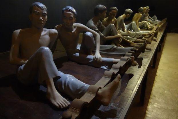 Le musée revient sur les prisonniers politiques vietnamiens.