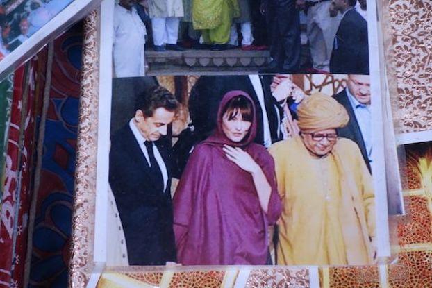 Visite de Nicolas Sarkozy à Fatehpur Sikri