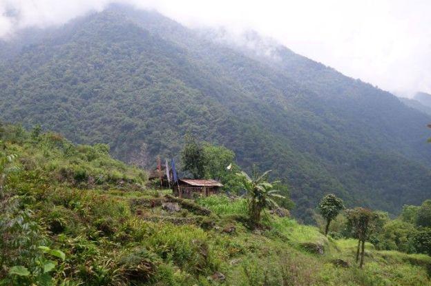 randonnée ou trek monastere du sikkim en inde photo blog voyage tour du monde https://yoytourdumonde.fr
