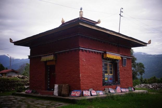 temple tibétain à Tashiding au Sikim photo blog voyage tour du monde https://yoytourdumonde.fr
