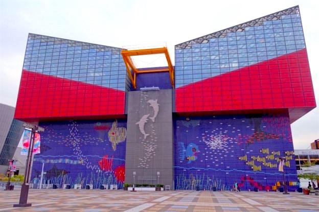 L'aquarium d'Osaka est l'un des plus beaux du monde photo blog voyage tour du monde https://yoytourdumonde.fr