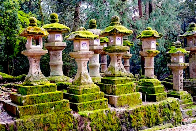 Ancienne capitale du Japon il y a de très nombreux temples dont certains inscrit à l'Unesco à Nara au Japon photo blog voyage tour du monde https://yoytourdumonde.fr