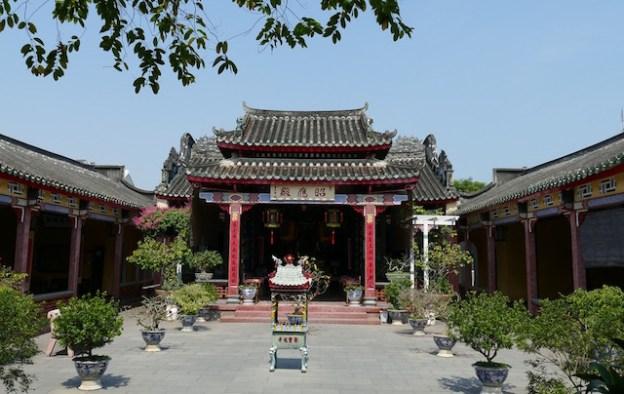 L'un des nombreux monuments historiques d'Hoi An au Vietnam photo blog voyage tour du monde https://yoytourdumonde.fr