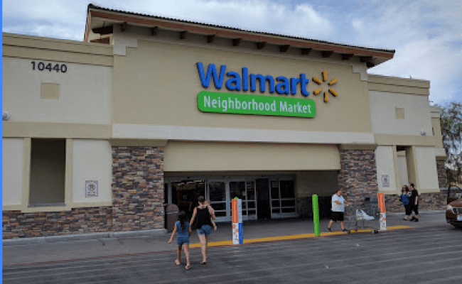 Walmart Supermarket In Cheyenne Ave Las Vegas Nevada Nv