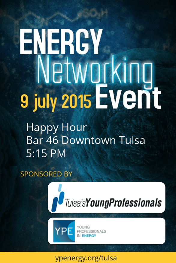Upcoming Events  YPE and TYPros Energy Networking Event  Tulsa