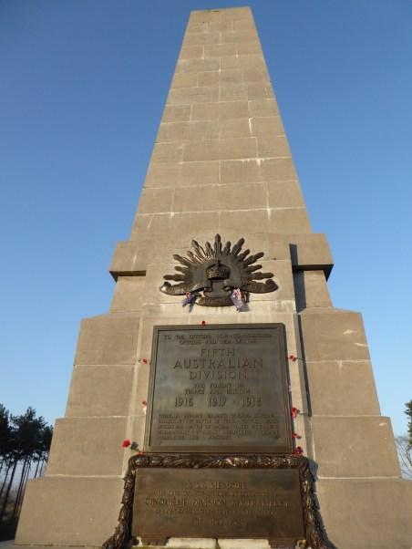 Buttes New British Cemetery (Zonnebeke) - Australian Monument ©YRH2016