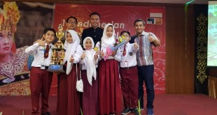 Daun Sirih Merah Antarkan SD YPSA Raih Medali Emas Di I3F 2018