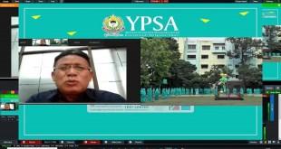 Mantan Rektor UNIMED Berikan Sambutan Pada Upacara Virtual Pembukaan TP. 2020-2021 YPSA