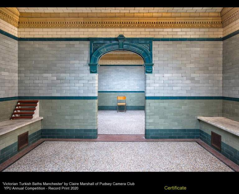 Pudsey Camera Club_Claire Marshall_Victorian Turkish Baths Manchester