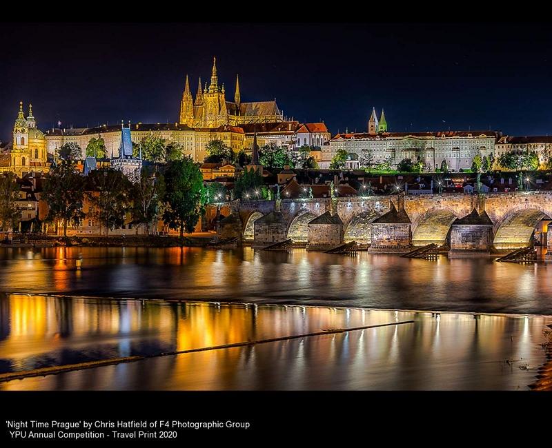 F4 Photographic Group_Chris Hatfield_Night Time Prague