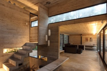 minimalist modern architecture designs interior concrete houses characteristics stone wood architects materials glass pinilla bak jd gustavo sosa interest texture