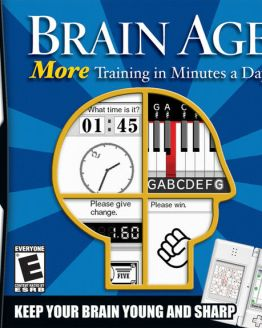 Brain Age 2: More Training in Minutes a Day NDS New Nintendo DS