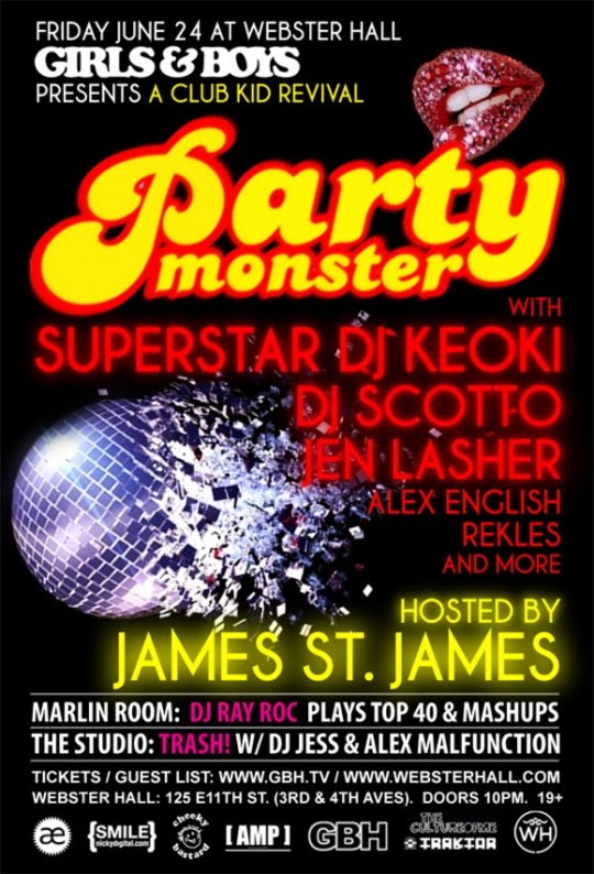 062411 540x794 - Party Monster at Webster Hall featuring Superstar DJ Keoki