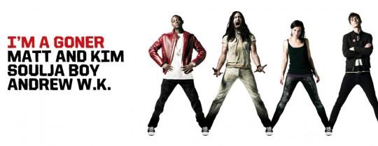 3AiS articleheader featurelist 540x209 - Converse Three Artists. One Song