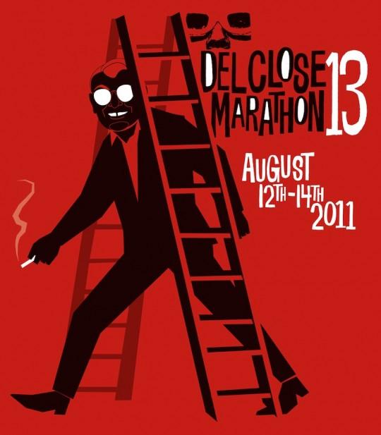 dcm13 ladder 540x617 - Del Close Marathon at the Upright Citizens Brigade Theatre