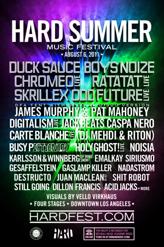 hard summer flyer 2011 540x810 - HARD Summer Music Festival 2011