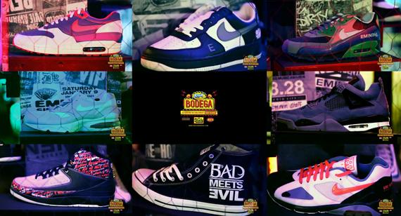 lipton brisk ice tea bodega shady records 00 - Shady Sneaker Collection on Display at Brisk Bodega