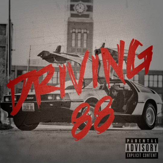 driving88frontfinal 540x540 - Rockie Fresh Releases His New Mixtape: Driving 88