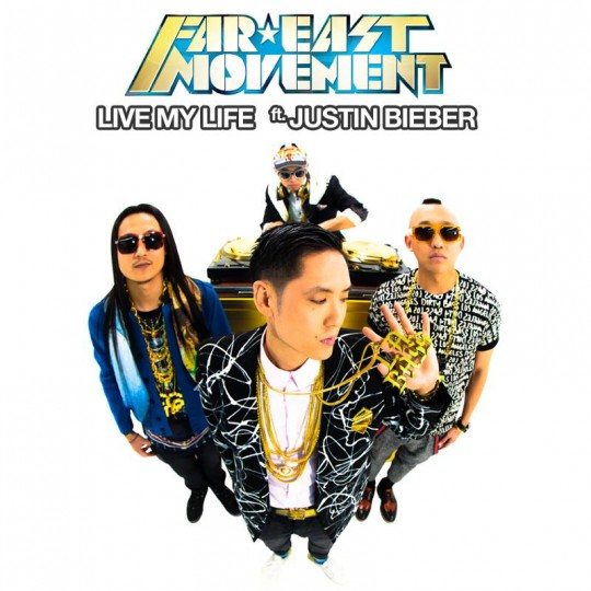 "577 540x540 - Far East Movement Collaborate With Justin Bieber on  ""Live My Life"""
