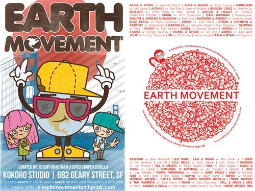 earthmovementflier thumb - Kokoro Studio Presents: Earth Movement