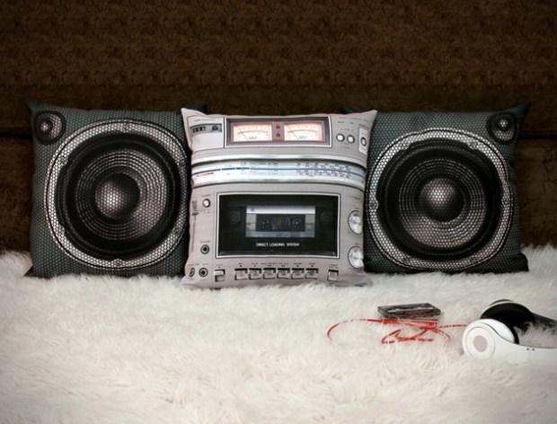 Boombox Pillow Set 1 - Boombox Pillow Set