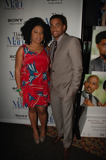 "TLAM Premiere Demetria Lucas Michael Ealy - ""Think Like a Man"" Makes Promotional Stop in NYC"