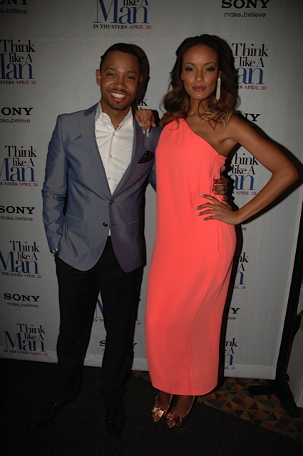 "Terrence J Selita Ebanks - ""Think Like a Man"" Makes Promotional Stop in NYC"