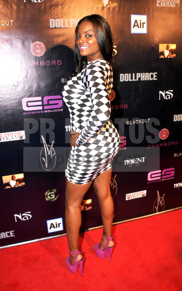 Brooke Bailey on carpet - Event Recap: Jimmy Maggette Jr. Birthday Party