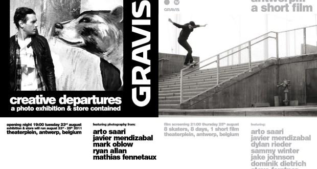 mailAttach - Gravis Photo Show and Antwerp Video Premiere