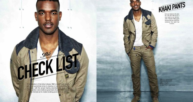 "Style Guide - Video: Luke James - ""I Want You"""