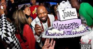 Jimmie Maggette holding AIR - Event Recap: Jimmy Maggette Jr. Birthday Party