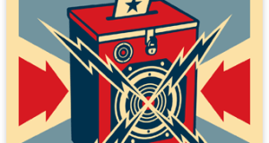 vote - Get out the Vote! with Sincerely Ink & Shepard Fairey @obeygiant @sincerely
