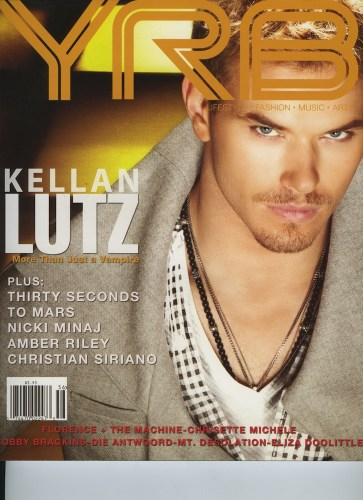 Issue 106 Year In Review Kellan Lutz - Print Magazine Covers 1999-2018